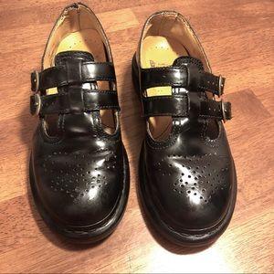 Dr. Marten AirWave Black Mary Janes Size 6
